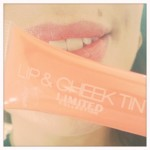 Susie Amy Apricot Marks Lip Tint Limited Cheek