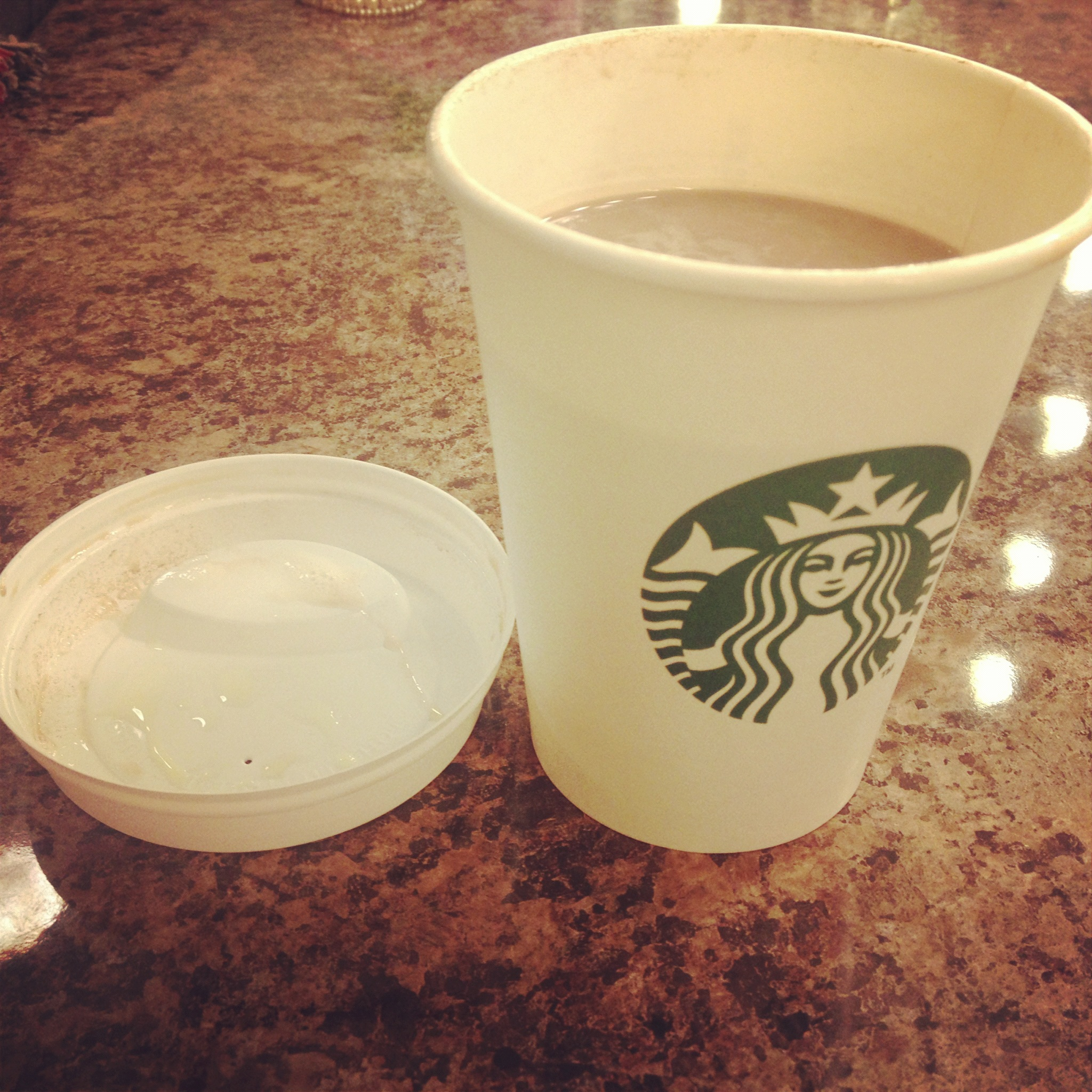 DIY Brows and Starbucks Salted Caramel Hot Chocolate | Blusher and ...