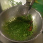 Raw Avocado and Spinach Soup