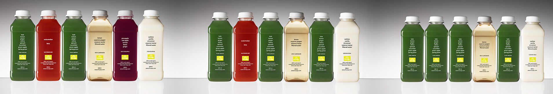 Fruveju Juice Cleanse Levels