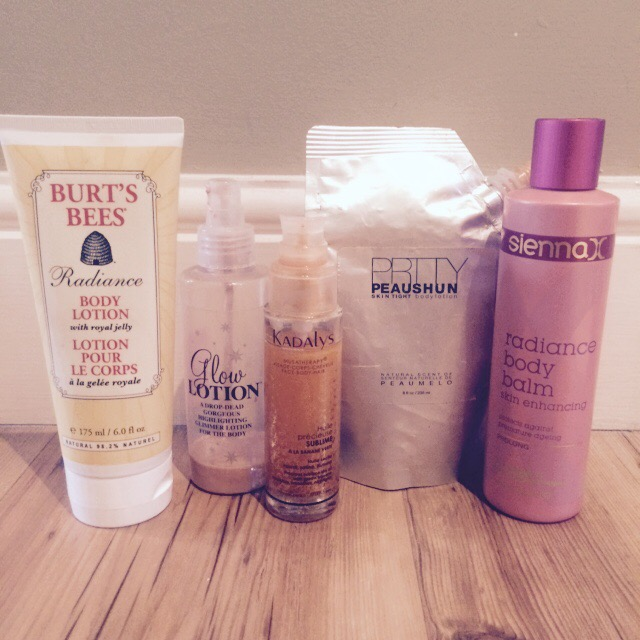 Radiance Lotions Balms Oils