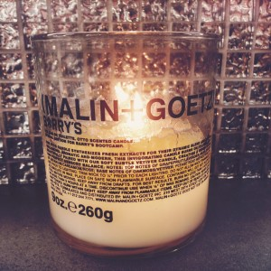 Malin and Goetz Candle