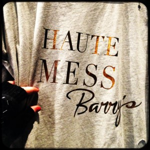 Barry's Bootcamp T-shirt