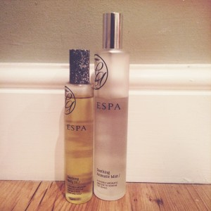 Espa Soothing Aromatic Mist and Body Oil